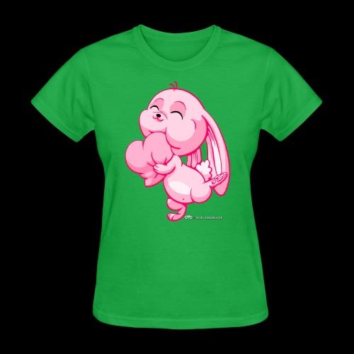 Pink Bunny - Women's T-Shirt