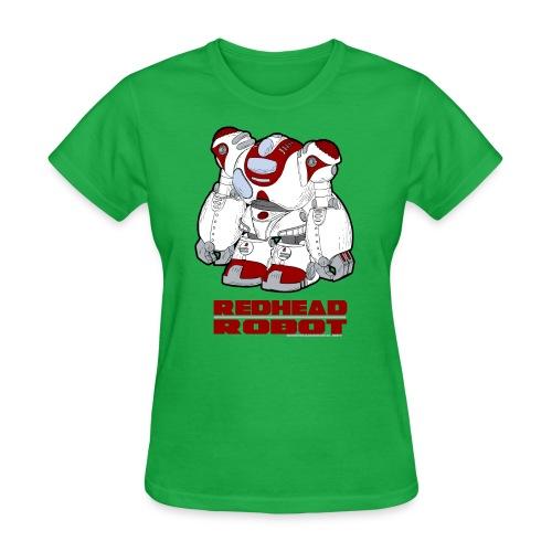 Redhead Robot - Women's T-Shirt