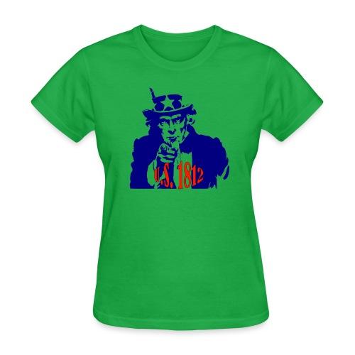 uncle-sam-1812 - Women's T-Shirt