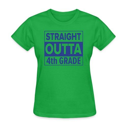 straightoutta 4th - Women's T-Shirt