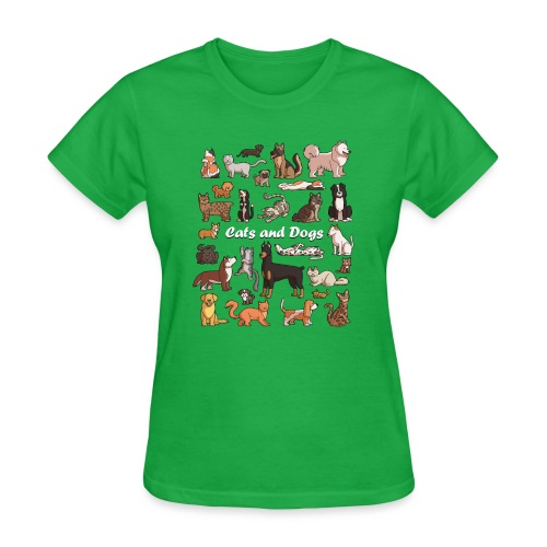 Cats and dogs - Women's T-Shirt