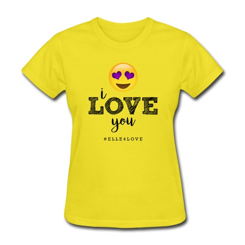 I LOVE you - Women's T-Shirt