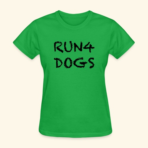 RUN4DOGS NAME - Women's T-Shirt