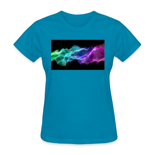 ws Curtain Colors 2560x1440 - Women's T-Shirt
