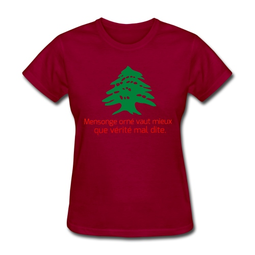 Collection Lebanese Proverb - Women's T-Shirt
