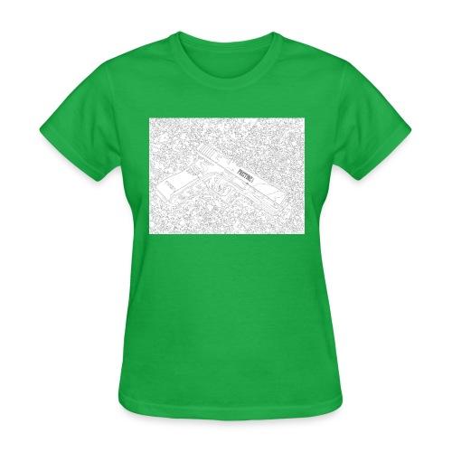 GunLines - Women's T-Shirt
