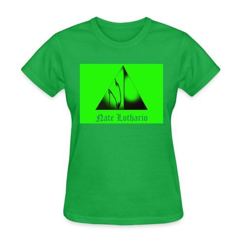 Lime Green Logo - Women's T-Shirt