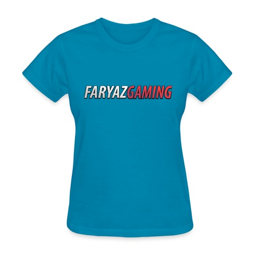 FaryazGaming Text - Women's T-Shirt