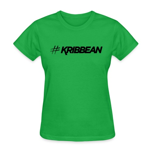 Original #KRIBBEAN Black - Women's T-Shirt