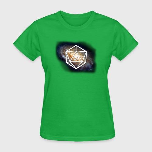 Geek Galaxy d20 - Women's T-Shirt