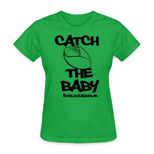 Catch the Baby #UnlkeAgholor Black - Women's T-Shirt
