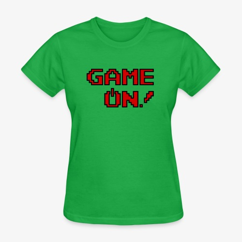 Game On.png - Women's T-Shirt
