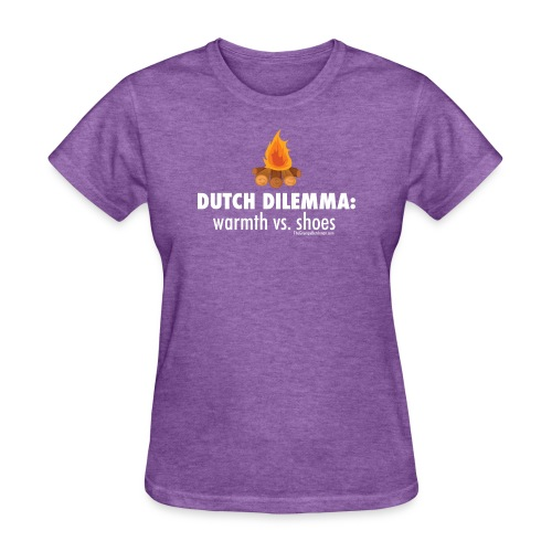 06 Dutch Dilemma white lettering - Women's T-Shirt