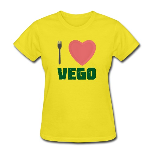 I love Vego - Clothes for vegetarians - Women's T-Shirt