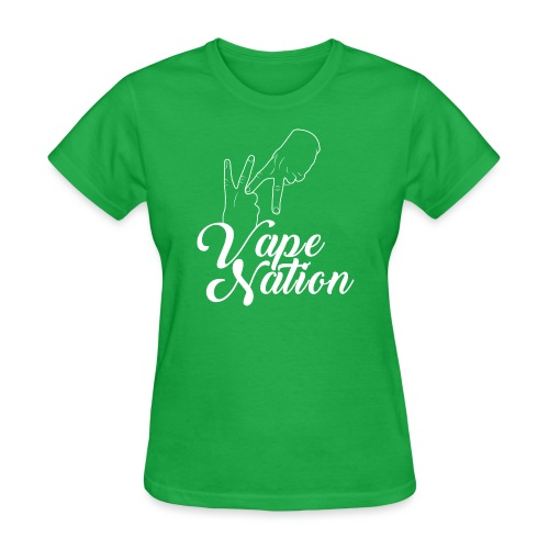 Vape Nation white - Women's T-Shirt