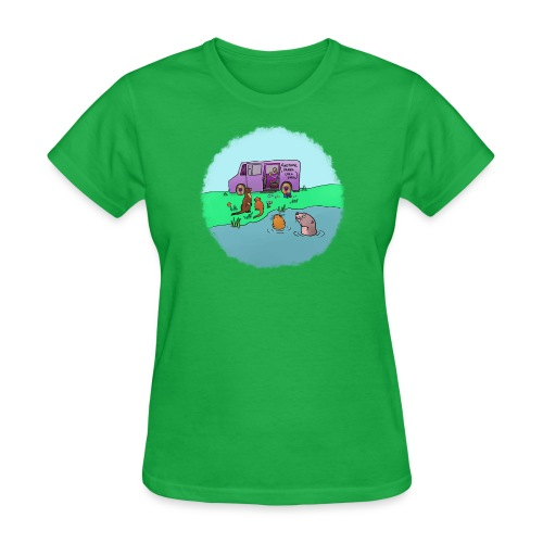 Sleve and the River Otters - Women's T-Shirt