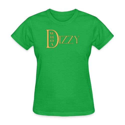 wd dizzy logo gold 2006 - Women's T-Shirt
