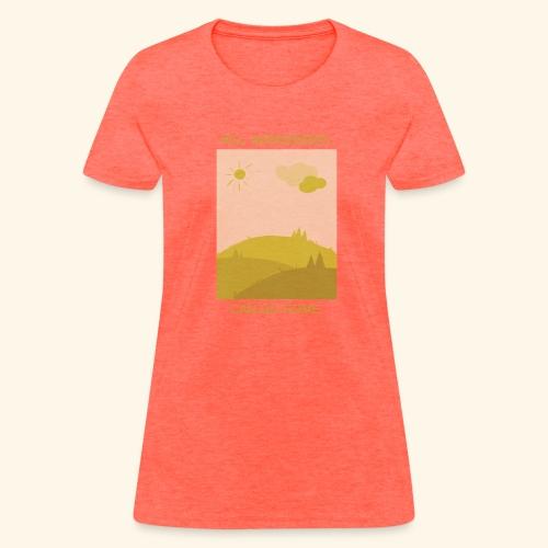 Hill mongereres - Women's T-Shirt