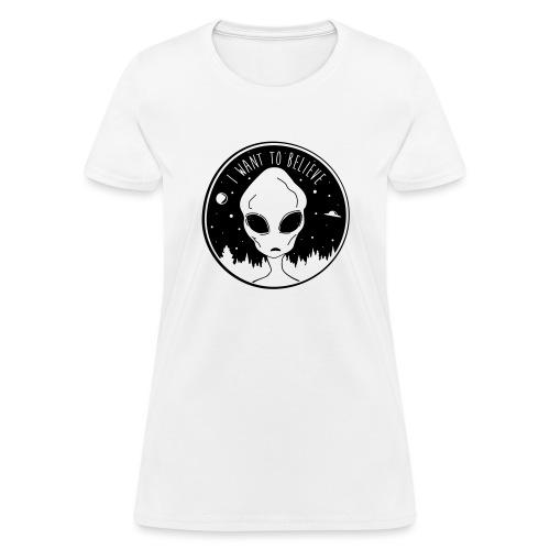I Want To Believe - Women's T-Shirt