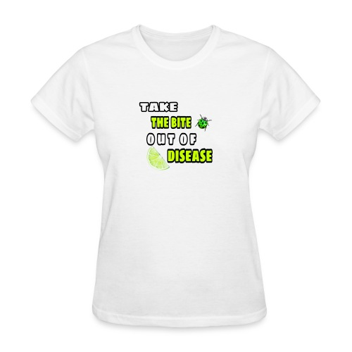Take the bite out of Lyme's Disease - Women's T-Shirt