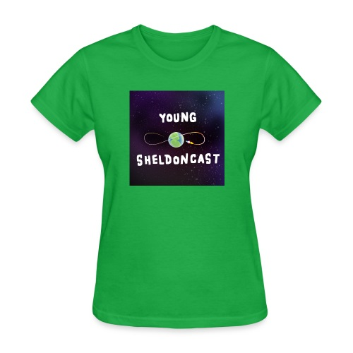 Young Sheldoncast - Women's T-Shirt