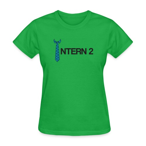 Intern 2 Tie - Women's T-Shirt