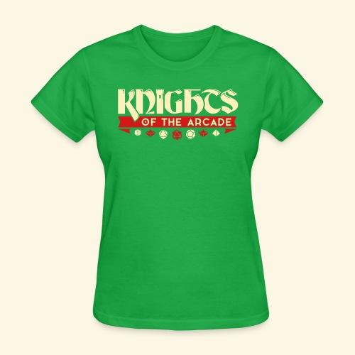 Knights Word Logo - Women's T-Shirt