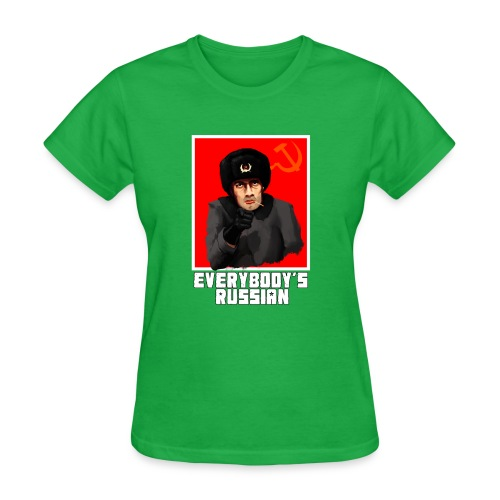Russian - Women's T-Shirt