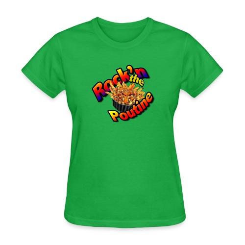 rockn the poutine tshirt art - Women's T-Shirt