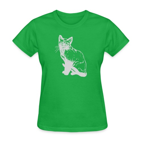 grey siamese png - Women's T-Shirt