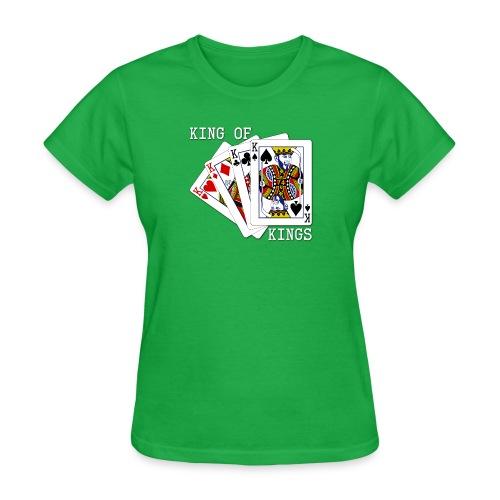 kingofkings white - Women's T-Shirt