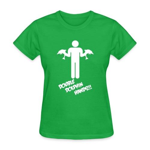 DoubleDolphin1 - Women's T-Shirt