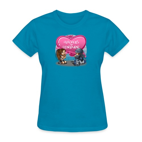 Always and Forever by RollinLow - Women's T-Shirt