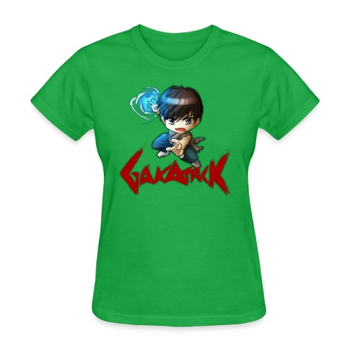 dbz gakattack optimized - Women's T-Shirt