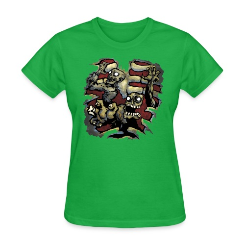 Choice Of Zombies color - Women's T-Shirt