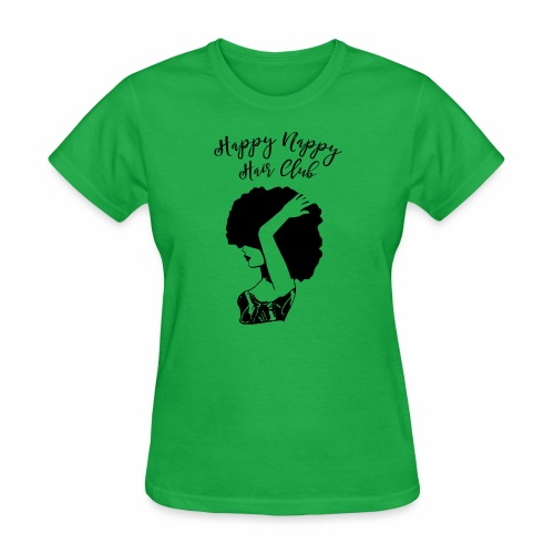 Happy Nappy Hair Club Premium Tee - Women's T-Shirt