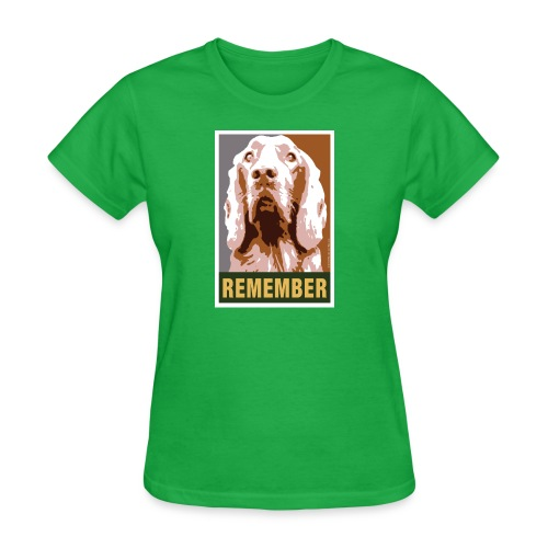 Official DAR Special Edition REMEMBER Brown - Women's T-Shirt