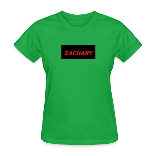 ZACHARY LOGO 9 - Women's T-Shirt
