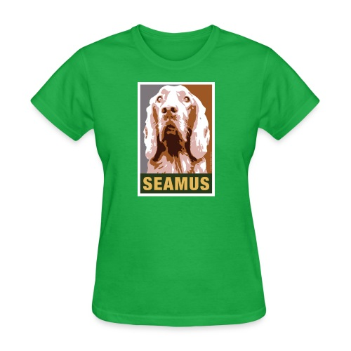 Official DAR Special Edition SEAMUS Brown - Women's T-Shirt