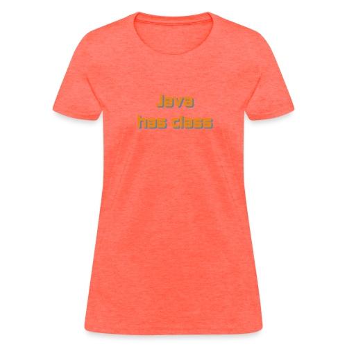 java has class2 - Women's T-Shirt