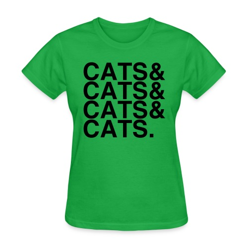 cats - Women's T-Shirt