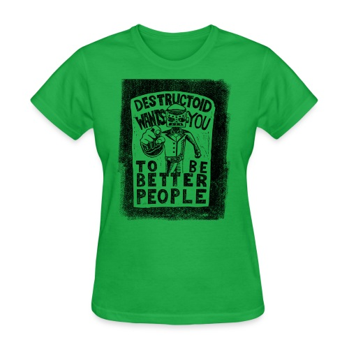 Destructoid Wants You - Women's T-Shirt