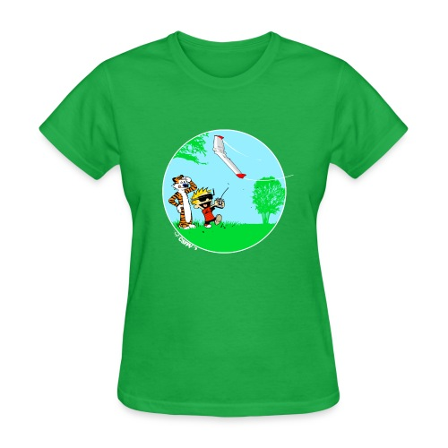 Always Fly with a Spotter. - Women's T-Shirt