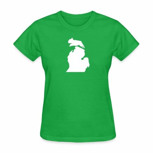 French Bulldog michigan womens shirt - Women's T-Shirt