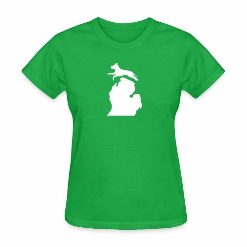 Pitbull Bark Michigan children's shirt - Women's T-Shirt