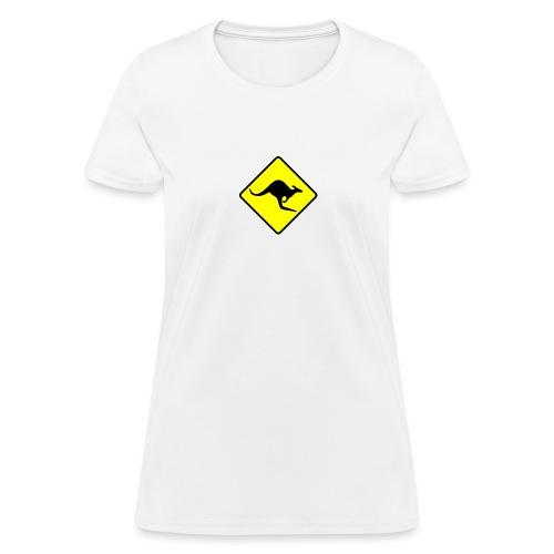 Kangaroo sign - Women's T-Shirt