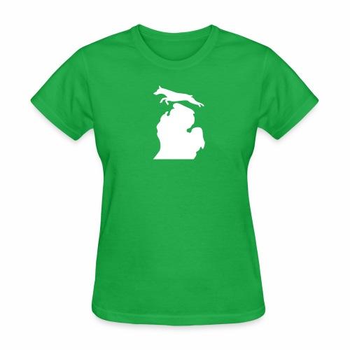 Doberman Bark Michigan Children's Shirt - Women's T-Shirt