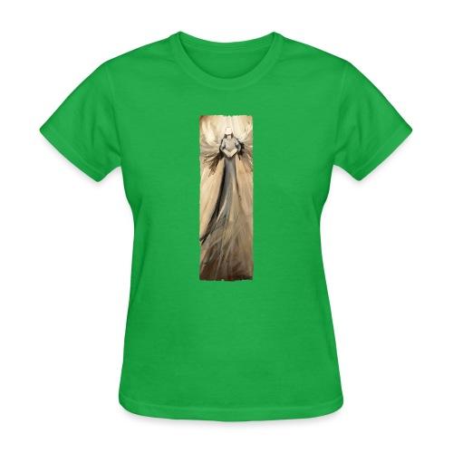 Long angel print_07_Ragge - Women's T-Shirt