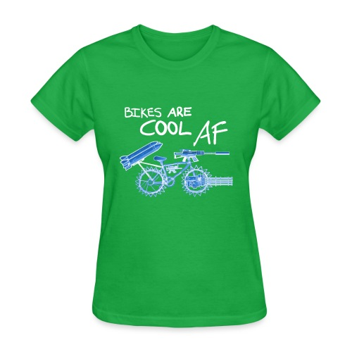 Bikes are COOL AF - Women's T-Shirt