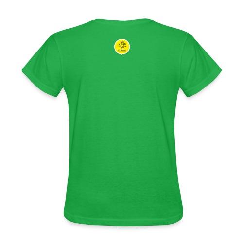 WordsLogoRevisedYellow png - Women's T-Shirt